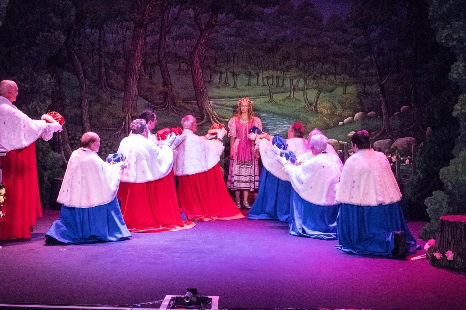 Iolanthe 2019 - The Lords with Phyllis